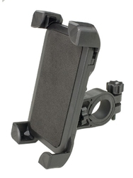 Uchwyt rowerowy ch-01 na smartfon czarny