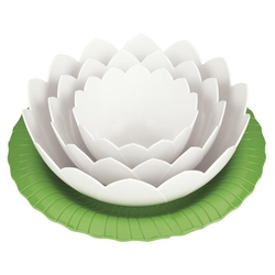 Zestaw misek z podstawką lotus zak designs