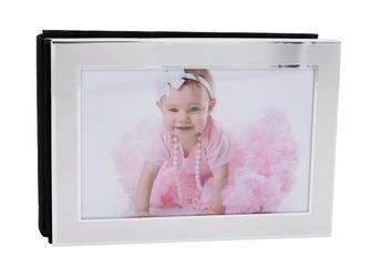 Album za zdjęcia poziom srebrny 18x12 grawer urodziny dzień matki rocznica ślub