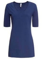 Shirt, rękawy 34 bonprix kobaltowy