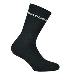Skarpetki diadora unisex tennis socks 3 pairs per pack - czarny