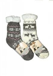 risocks  winter slippers gwiazdki art.2983 abs skarpetki