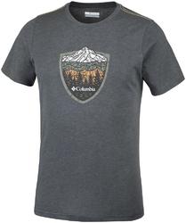 T-shirt męski columbia hillvalley forest eo0029012