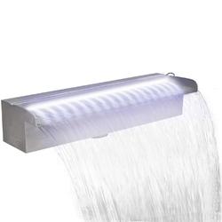 Vidaxl fontanna do oczka wodnego, z oświetleniem led, 45 cm