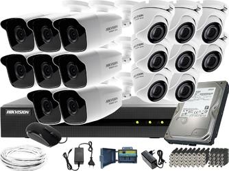 8x hwt-b220-m 8xhwt-t120-m zestaw monitoringu hikvision hiwatch hwd-6116mh-g2 dysk twardy 1tb akcesoria