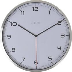 Zegar ścienny company 35 cm arabic biały