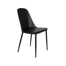 Orange line krzesło do jadalni pip czarne 1100429