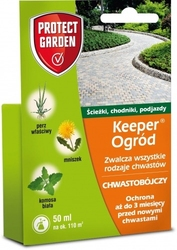 Keeper ogród – herbicyd totalny – 50 ml protect garden