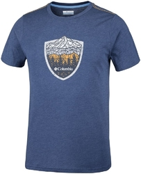 T-shirt męski columbia hillvalley forest eo0029470