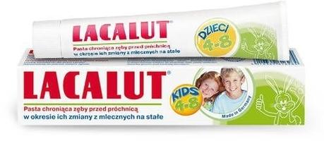 Lacalut pasta dla dzieci 4-8 lat 50ml