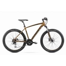 Rower górski romet rambler r6.4 26 2020, kolor złoty, rozmiar 18