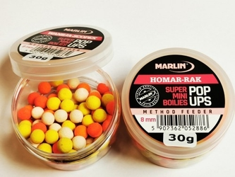 Kulki pop-up truskawaka brzoskwinia 30g marlin