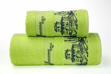 TOSCANA PISTACJOWY ręcznik bawełniany GRENO - pistacjowy