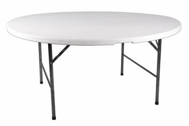 Stół ogrodowy 160cm biały