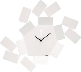 Zegar ścienny la stanza dello scirocco biały