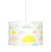 Lampa wisząca - pastelowe chmurki