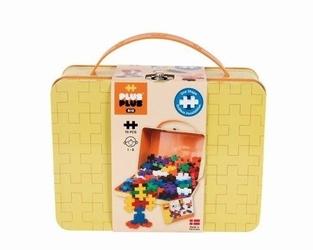 Klocki konstrukcyjne plus plus midi - 70 szt. - kolory podstawowe w walizce