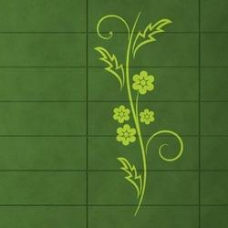 Szablon malarski kwiaty 1227