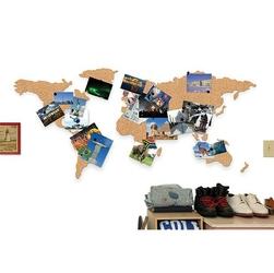 Korkowa mapa świata