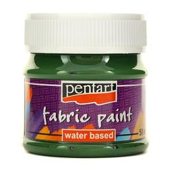 Farba do tkanin Pentart 50 ml - zielona sosna - ZIELSOS