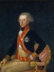 Reprodukcja portrait of general antonio ricardos, francisco goya