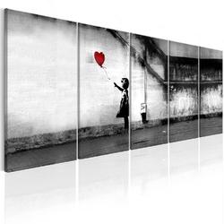 Obraz - banksy: uciekający balon