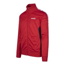 Zestaw dresowy męski diadora suit chromia ii - czerwony