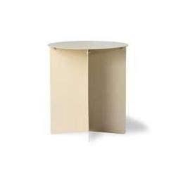 Hkliving :: okrągły stolik kawowy kremowy metalowy 45 cm