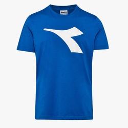 Koszulka męska diadora ss t-shirt logo - niebieski