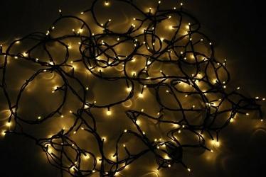 Lampki świąteczne 180 żarówek - światełka na choinkę