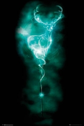 Harry Potter Patronus Stag - plakat filmowy