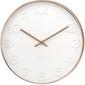 Karlsson :: zegar ścienny mr. white numbers cooper case ø51cm