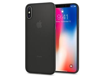 Etui spigen air skin apple iphone x  xs black - czarny