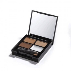 Focus  fix eyebrow shaping kit zestaw do makijażu i regulacji brwi medium dark 5,8g
