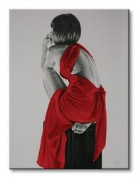 Red xxiv - obraz na płótnie