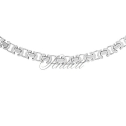 Łańcuszek ozdobny srebrny pr. 925 ø 0100 rodowany - 5,0 mm