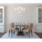 Eklektyczna lampa wisząca do dużego salonu glamour mw-light elegance 483010112