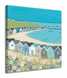 Beach Huts - Obraz na płótnie