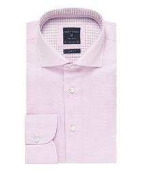 Elegancka różowa koszula męska profuomo originale 46