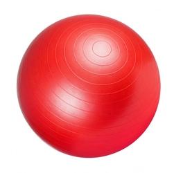 55cm piłka fitness gimnastyczna rehabilitacyjna gorilla sports czerwona