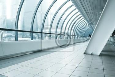 Fototapeta handlowych korytarz w centrum biznesowym