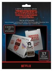 Stranger Things - naklejki na laptopa