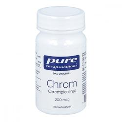 Pure encapsulations chrom 200 myg kapsułki