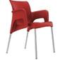 Krzesło sun czerwone - czerwony
