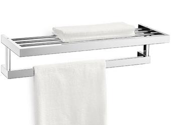 Półka łazienkowa linea zack 61,5cm polerowana 40024