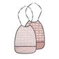 Zestaw śliniaków zoopreme - różowe