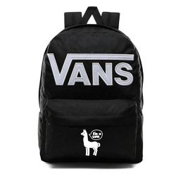 Plecak vans old skool iii - vn0a3i6ry28 - custom white lama