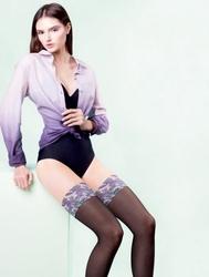 Pończochy gabriella jungle fashion collection
