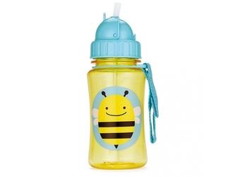 Pszczółka bidon z chowaną słomką zoo