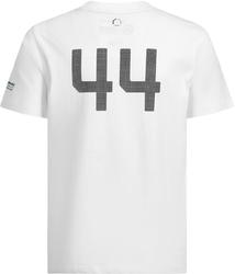 Koszulka dziecięca mercedes amg petronas 2019 biała - biały